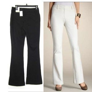 CHICO'S 00 XS 2 Pants The Ultimate Fit Ponte Knit